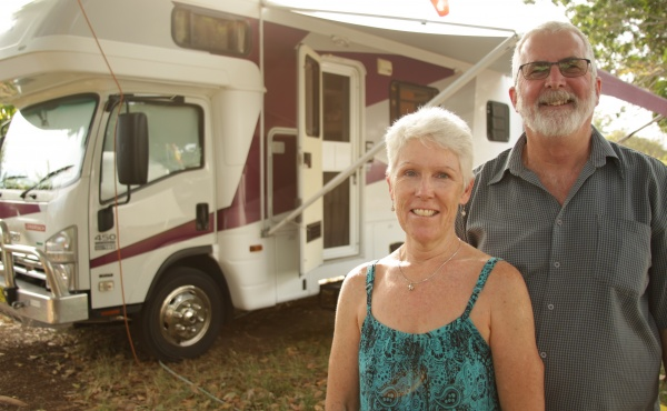 Cheerful Gypsy Couple Invite You In For A Peek At Full-Time Life On The Road