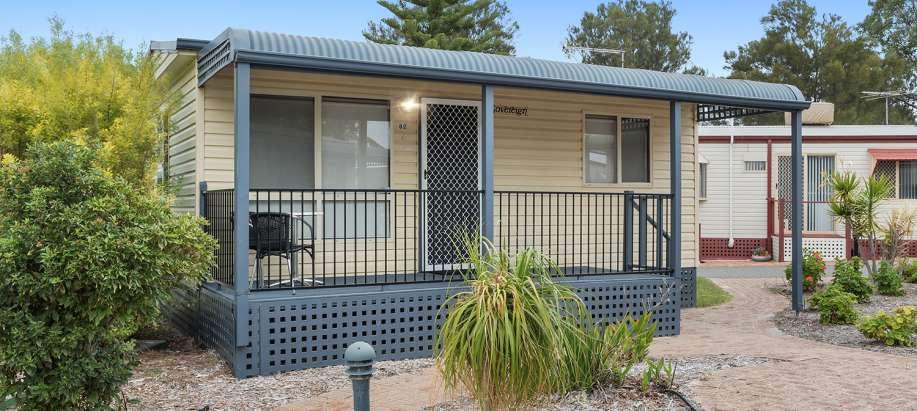 Cockburn Standard 1 Bedroom Cabin - Sleeps 2