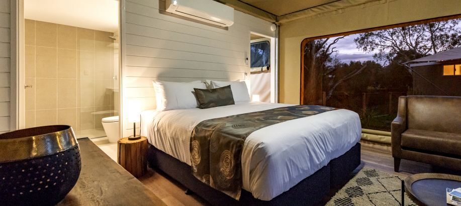 Tanunda Deluxe Safari Tent - Sleeps 2