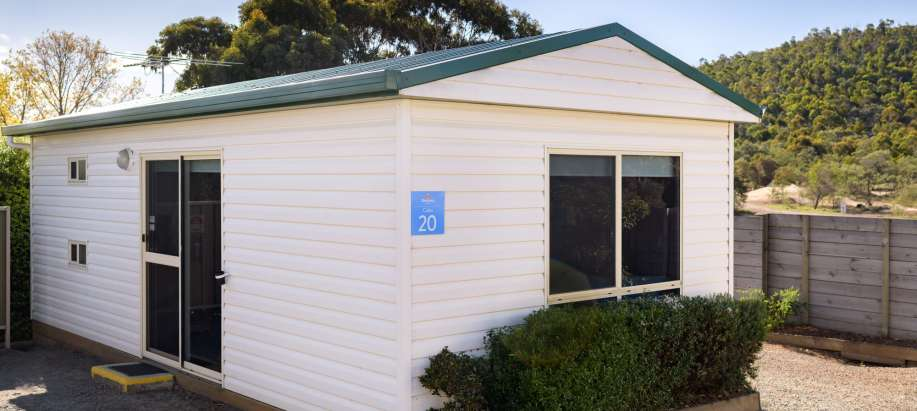 Hobart Standard 2 Bedroom Cabin - Sleeps 6