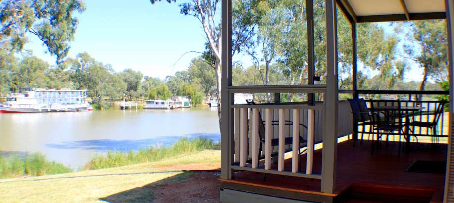 Mildura, Buronga Riverside Murray Deluxe 2 Bedroom Cabin - Sleeps 6