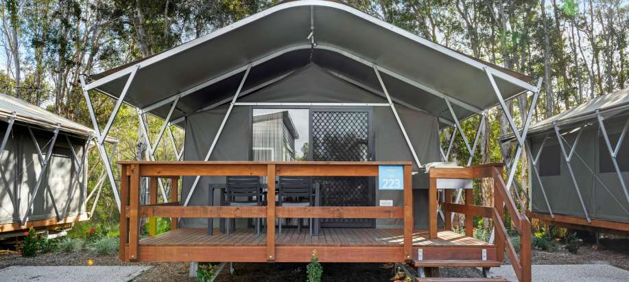North Coast Deluxe Safari Tent - Sleeps 4