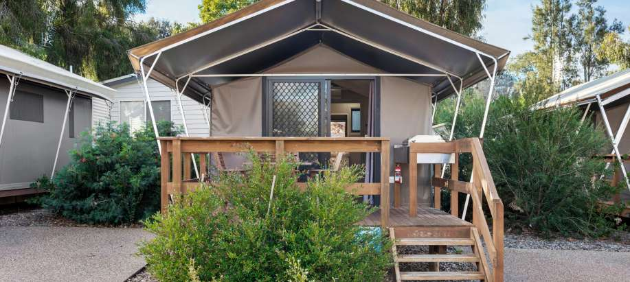 Orana Deluxe Safari Tent - Sleeps 2