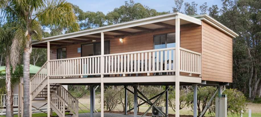 Eden South Coast Deluxe 2 Bedroom Cabin - Sleeps 6