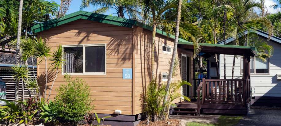 Emerald Beach Coffs Harbour Standard Boronia Cabin