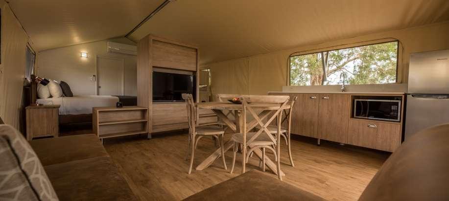 Fraser Street, Hervey Bay Fraser Coast Deluxe Safari Tent