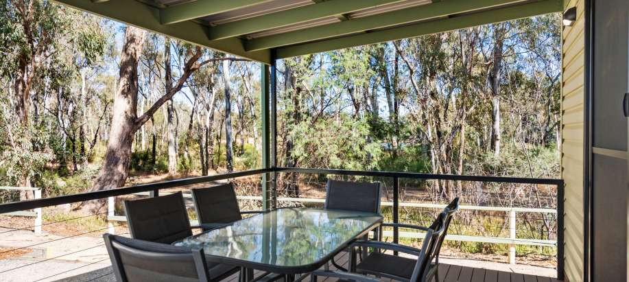 Echuca Murray Deluxe Riverview Cabin
