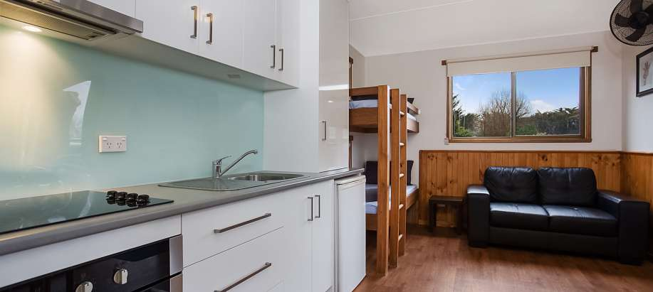 Port Fairy Standard Cabin - 1 Bedroom