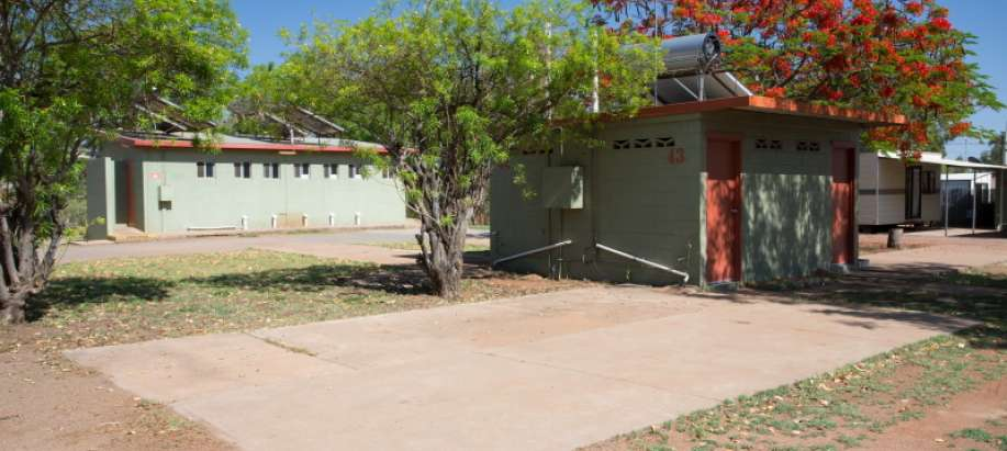 Mount Isa Outback Queensland Powered Site with Ensuite