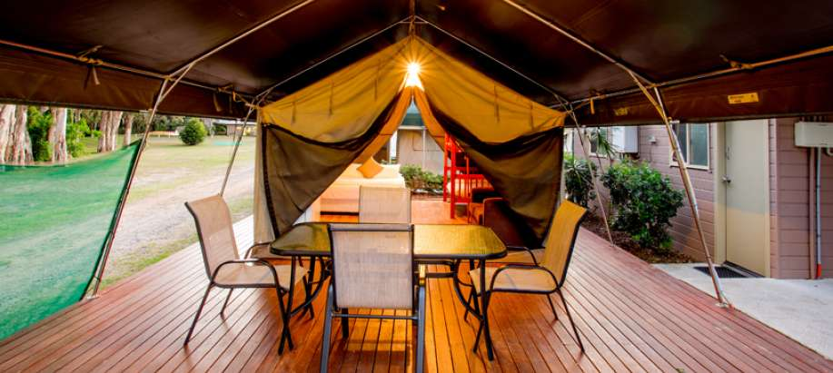Harrington Beach Mid-North Coast Standard Safari Tent