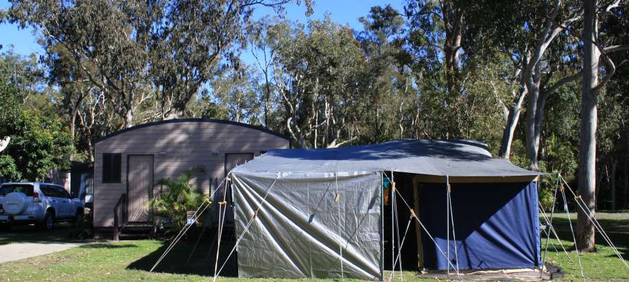 Emerald Beach Coffs Harbour Powered Tent Site