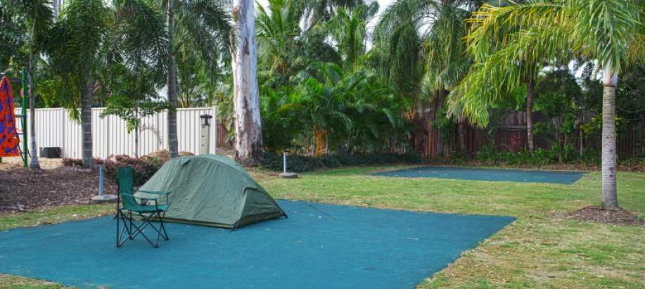 Rockhampton Capricorn Powered Tent Site