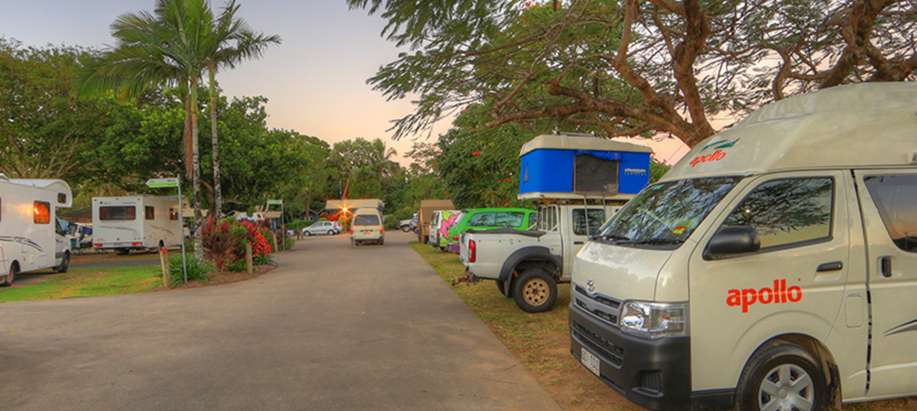 Cairns City Unpowered Campervan Site