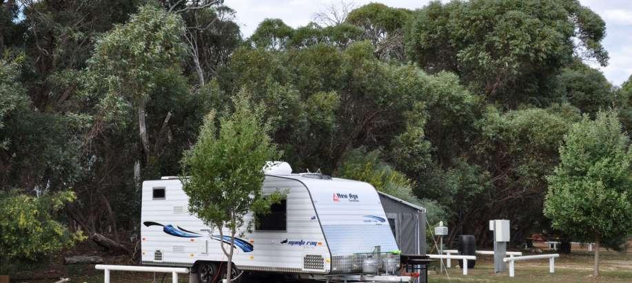 Kangaroo Island Powered Site